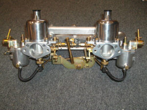 TR250 TR6 Hitachi SU Carb Conversion Setup